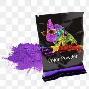 Holi - Holi Color Magenta Chameleons Purple PNG
