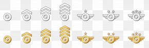 Badge - Military Aircraft Soldier Badge Army PNG