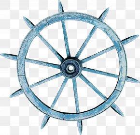 Direction Of The Wheel Pattern - Wheel Rudder Watercraft PNG