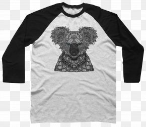 Koala - Long-sleeved T-shirt Long-sleeved T-shirt Raglan Sleeve Clothing PNG