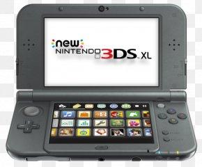 Nintendo - New Nintendo 3DS Nintendo 3DS XL Handheld Game Console Super Nintendo Entertainment System PNG