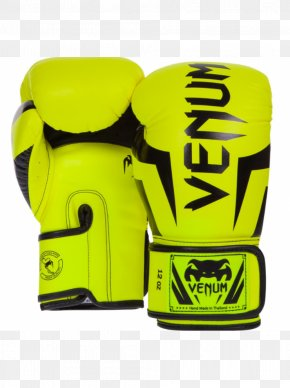Boxing Gloves - Boxing Glove Venum Muay Thai PNG