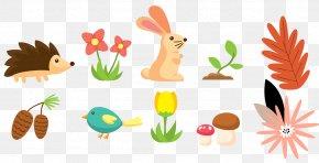 Animal Plants - Euclidean Vector Plant Animal Illustration PNG