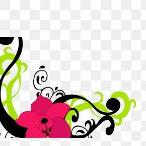 Color-wrapped Flower Rat Vector Material - Flower Petal Clip Art PNG