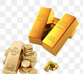 A Wide Range Of Gold Bullion Coins Image - Gold Bar Bullion Ingot Gold As An Investment PNG