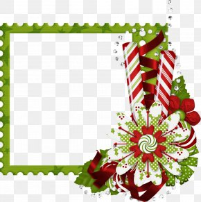 Cow Borders For Stationary - Borders And Frames Clip Art Christmas Day Vector Graphics Image PNG