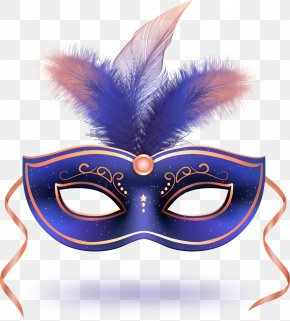 Vector Queen Mask With Feathers - Carnival Of Venice Mask Euclidean Vector Download PNG