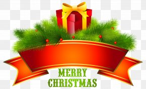 Merry Christmas Text Free Download - Christmas Santa Claus Clip Art PNG