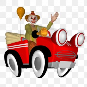 Truck Clown - Joker Pierrot Clown Cartoon PNG
