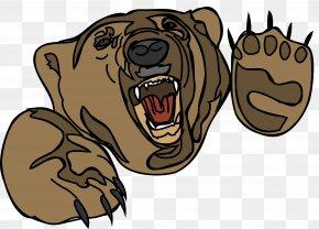 Bear - Brown Bear American Black Bear Giant Panda Clip Art PNG