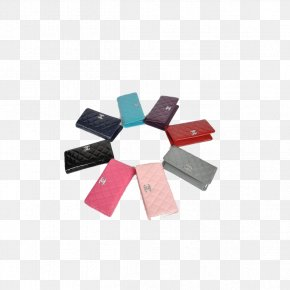 Ladies Wallet Multi Color - Chanel Wallet Color Red Blue PNG
