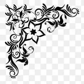 Design - Decorative Borders Vector Graphics Clip Art Floral Design PNG