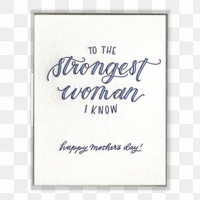 Mother's Day - Paper Mother's Day Gift Woman PNG