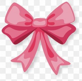 Hand Painted Pink Bow Tie - Birthday Cake Wish Happy Birthday To You PNG