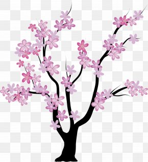 Cherry Blossom - Tree Abstract Art Royalty-free PNG