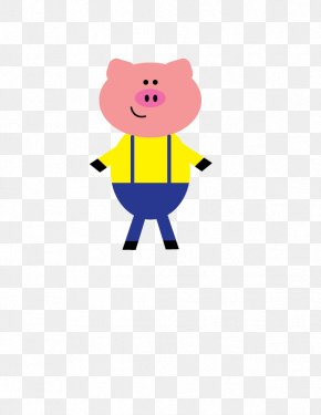 Patton - The Three Little Pigs Clip Art PNG
