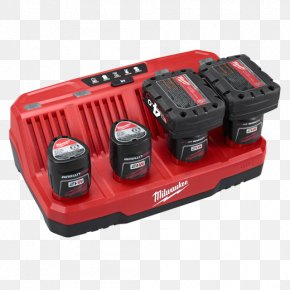 Battery Charger - Battery Charger Milwaukee M12 2-Tool Combo Kit 2497-22 Electric Battery Lithium-ion Battery Battery Pack PNG