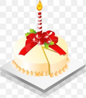 Vector Hand-drawn Birthday Cake - Birthday Cake Torte PNG