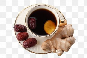 Free To Pull The Material Dates Ginger - Haikou Ginger Tea PNG