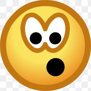 Shocked Smiley Face - Club Penguin Island Smiley Emoticon Clip Art PNG