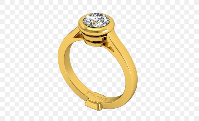Engagement Ring Gold Jewellery Białe Złoto, PNG, 500x500px, Ring, Body Jewellery, Body Jewelry, Description, Diamond Download Free