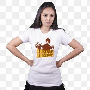 T-shirt For Girls - Shraddha Kapoor T-shirt Aashiqui 2 Bollywood PNG