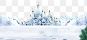 White Castle - Snow Fort Winter PNG
