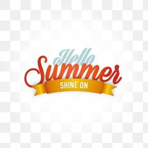 Hello Vector Summer Pattern - Summer Poster Euclidean Vector PNG