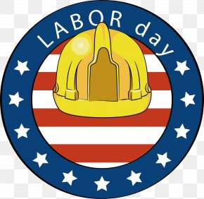 Circular Safety Helmet, Labor Day Poster - Palm Beach County Bar Association Honorable Krista Marx Labor Day International Workers' Day Clip Art PNG