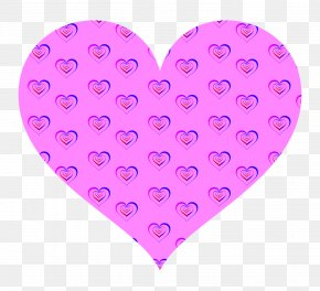 Hearts Poster - Pink Image Clip Art Borders And Frames PNG