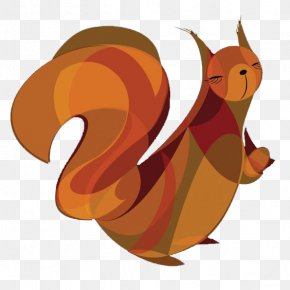 Brown Squirrel - Squirrel Canidae Clip Art PNG