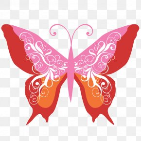 Butterfly - Butterfly Insect Pollinator Moth PNG