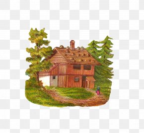 Log Cliparts - House Log Cabin Free Content Clip Art PNG