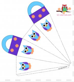 Cute Baby Owl Coloring Pages - Owl Coloring Book Party Favor Clip Art PNG