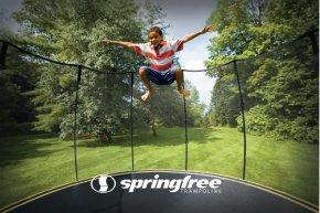 Trampoline - Springfree Trampoline Trampolining Jumping Sport PNG