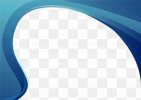 Background Border Creative Text Box - Blue Wallpaper PNG