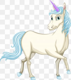 Vector Hand-painted Unicorn - Unicorn Royalty-free Illustration PNG