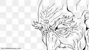 Death Star Line Drawing - Line Art Drawing DeviantArt PNG