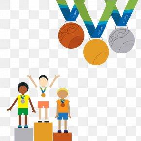 Vector Award - Rio De Janeiro 2016 Summer Olympics Olympic Sports Euclidean Vector PNG