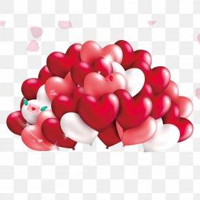 Valentine's Day - Valentine's Day Heart Birthday Clip Art PNG