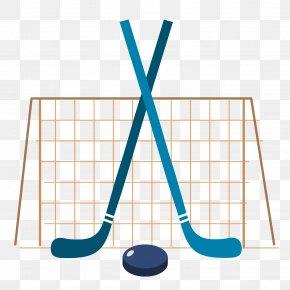 Vector Cartoon Hockey Game - Ice Hockey Hockey Puck PNG