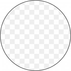Circle Frame Pic - Circle Area Angle Point Black And White PNG