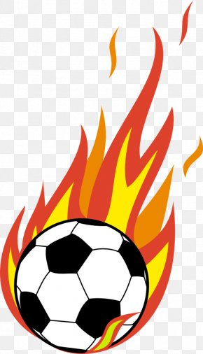 Flaming Soccer Ball Png - Liberty Flames Men's Soccer American Football Clip Art PNG