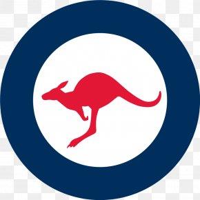 Kangaroo - Royal Australian Air Force Royal Air Force Roundels Military Aircraft Insignia PNG