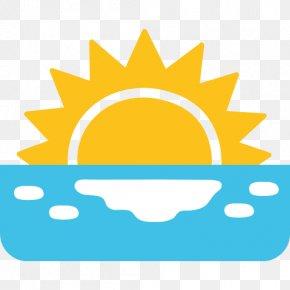 Sunrise - Emoji SMS Text Messaging Sunrise Morning PNG