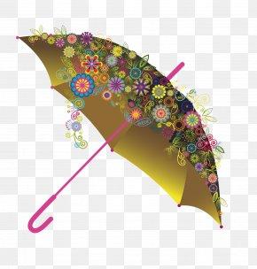 Vector Princess Umbrella - Flower Icon PNG
