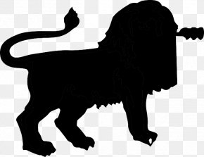 African Silhouette - Lion Tiger Cat Felidae Cougar PNG