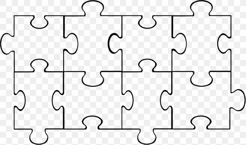 Blank Jigsaw Puzzle Template from img.favpng.com