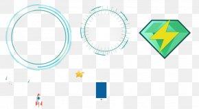 Blue Circle Pattern - Circle Red White PNG