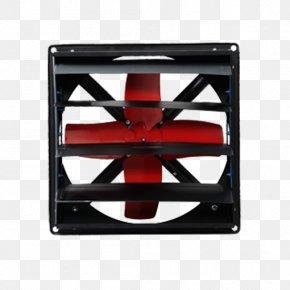 Black Frame Red Fan Exhaust Fan - Mikroelektronika PIC Microcontroller PNG